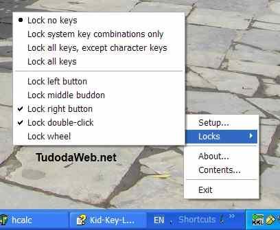 Kid-Key-Lock programa para bloquear teclado e mouse