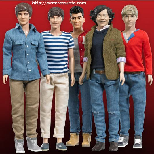 Bonecos do One Direction