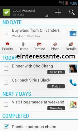 Aplicativo de Lista de Tarefas do Android com Google Tasks