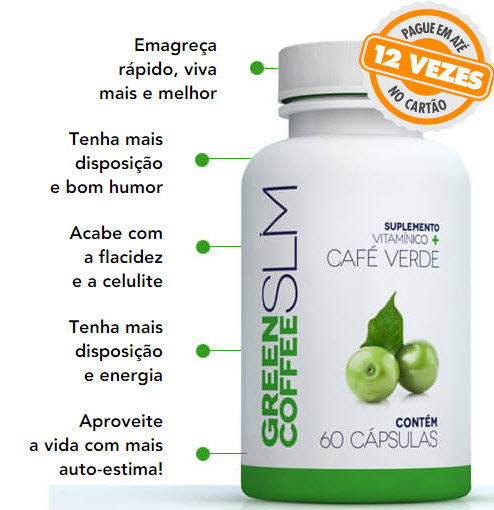 Green Coffee Slim Funciona e Emagrece