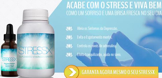 Stress X funciona para aliviar depressão e diminuir estresse